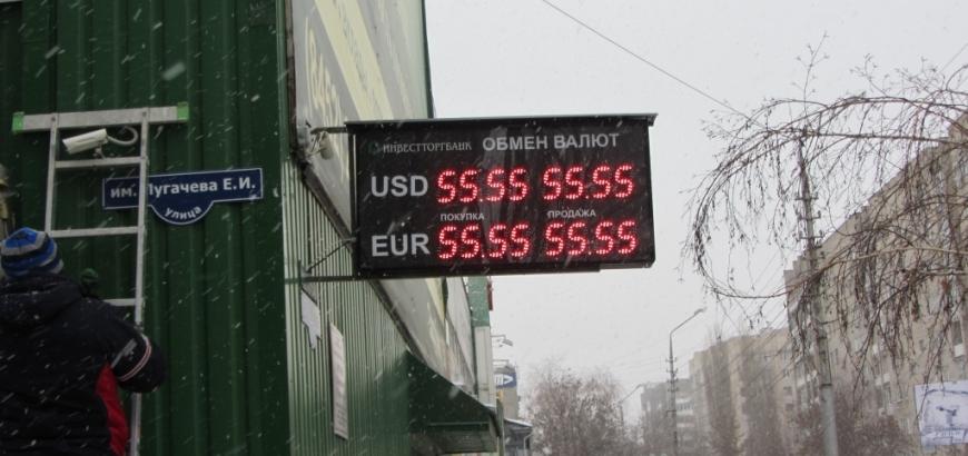 электронное табло курсов валют (инвестторгбанк)
