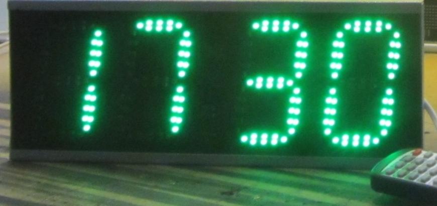 Электронные часы для офиса